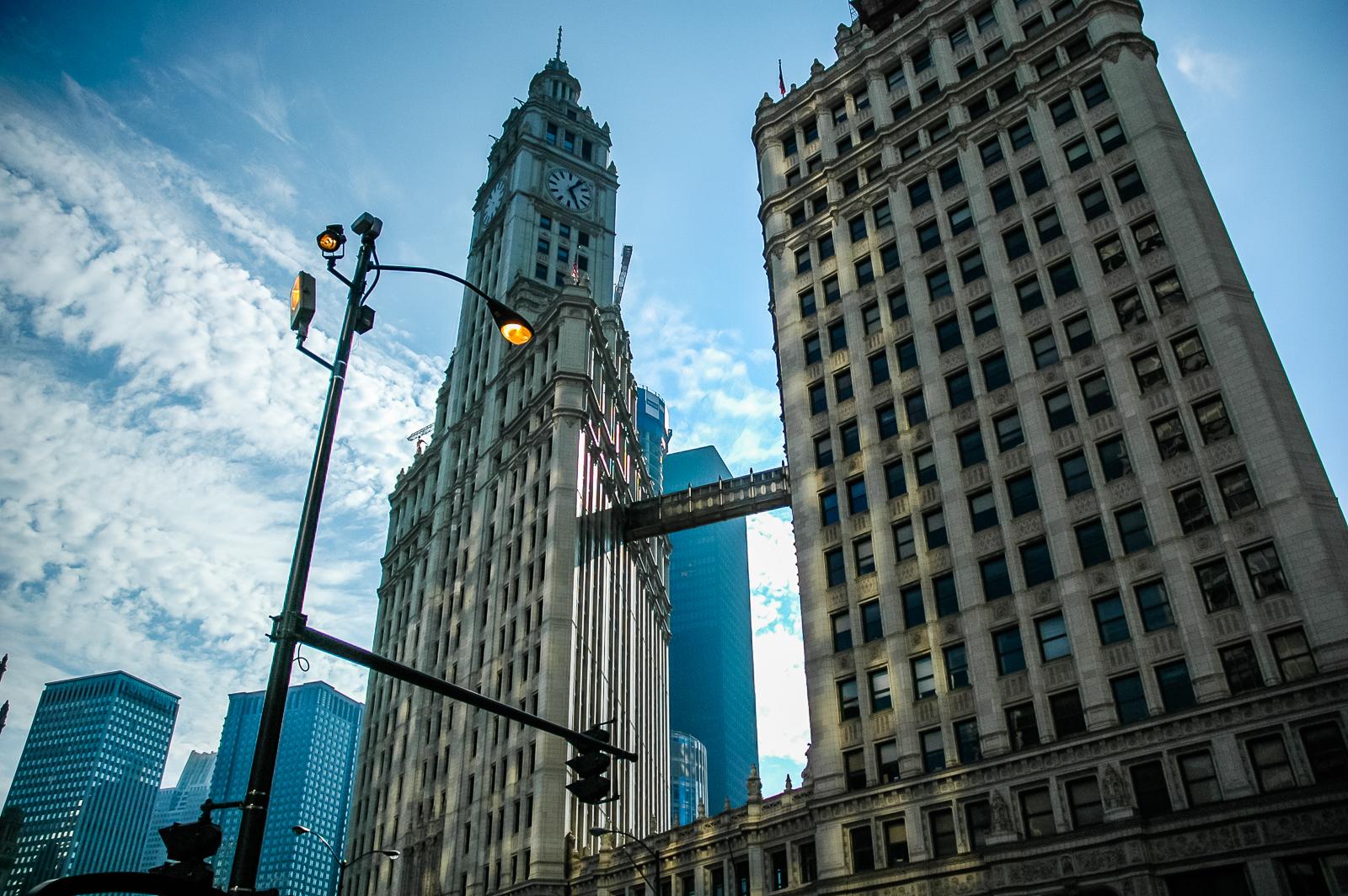 Chicago, Wrigley Building, Big Sky